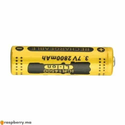 Batterie Li ion rechargeable 14500 2800mAh 3