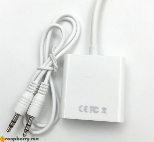 Câble adaptateur HDMI to VGA Audio 4