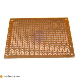 Carte PCB universelle 5x7cm 2.54mm 1