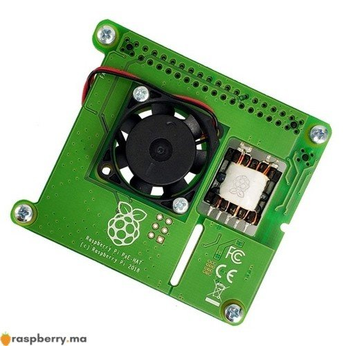 Carte dextension POE Raspberry Pi 2
