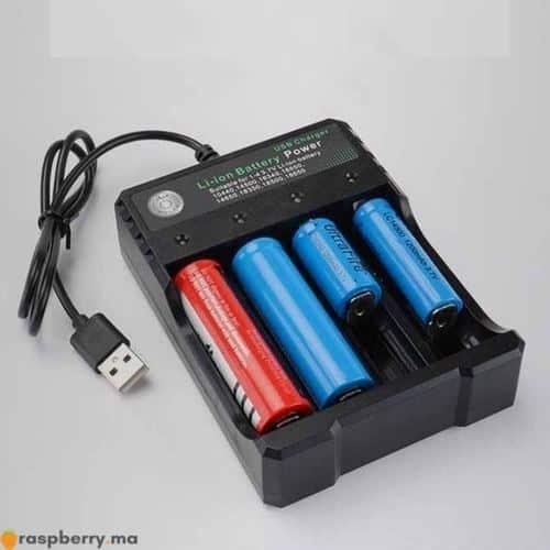 Chargeur batterie Li ion USB 1