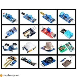 Kit 16 Capteurs pour Raspberry Pi Arduino 1