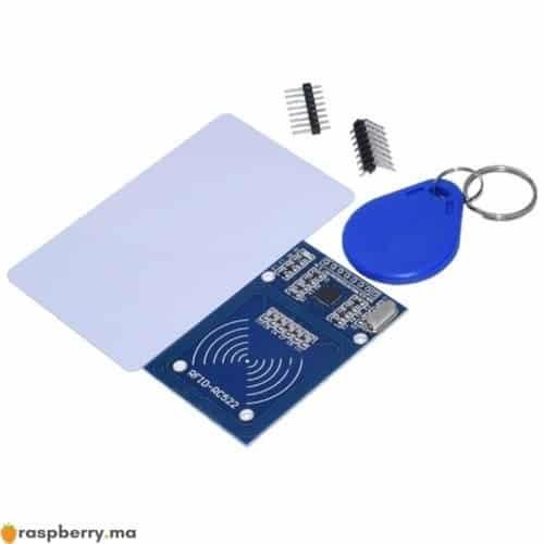 Kit Module RFID RC522 13.56 Mhz 6cm Avec Tags SPI lecture Ecriture