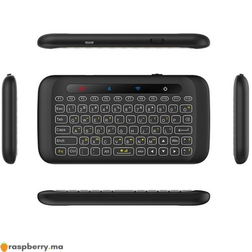 Mini Clavier Sans fil avec Touchpad PC Mac OS TV Android Windows 3