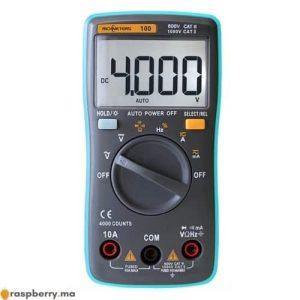 Multimètre numérique TM0002 1