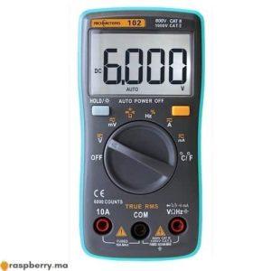 Multimètre numérique avec Mesure de Température 2