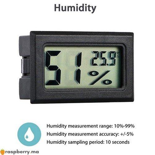 Thermomètre Hygromètre 2