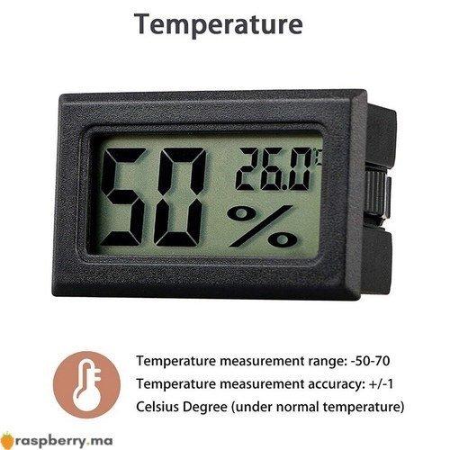 Thermomètre Hygromètre 5