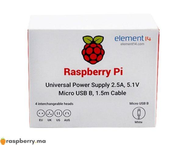 alimentation 25 A raspberry pi original 2