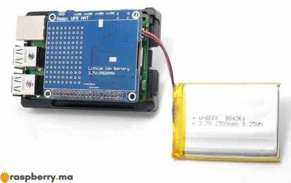 carte dextension batterie 2 raspberry pi i8