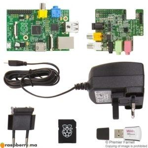 kit raspberry pi audio hd