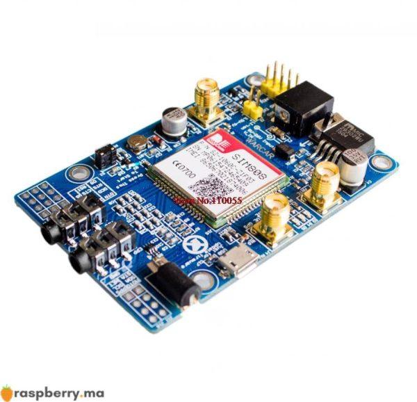 module gsm gprs gps pour raspberry pi avec support 2g 3g 4g sim card 2