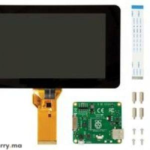 raspberry pi 7 touch screen display with 10 finger capacitive touch 1