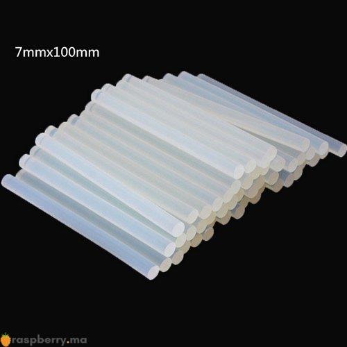 10 Bâtons de colle 7mm x 100mm 4