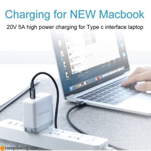 Câble magnétique USB Type C vers USB Type C 5A 3