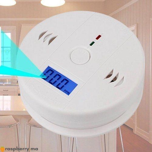 Détecteur de gaz CO avec Alarme 85dB 1