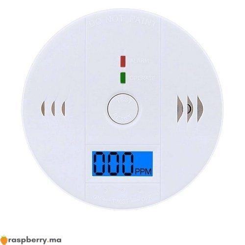 Détecteur de gaz CO avec Alarme 85dB 2