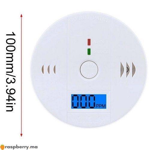 Détecteur de gaz CO avec Alarme 85dB 4
