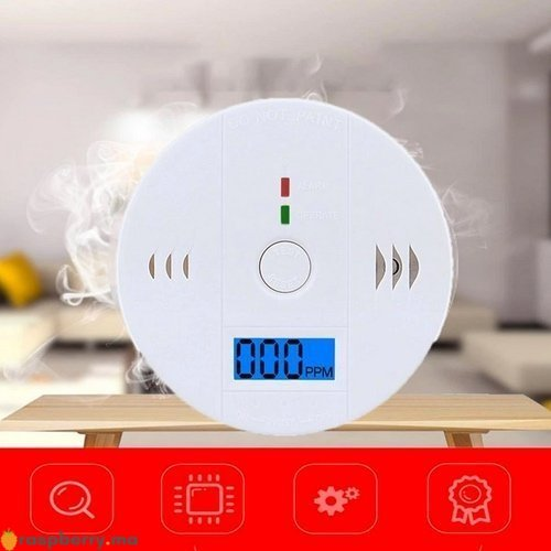 Détecteur de gaz CO avec Alarme 85dB 5