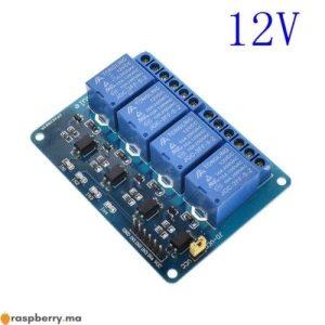 Module Relais 12V – 4 Canaux 1