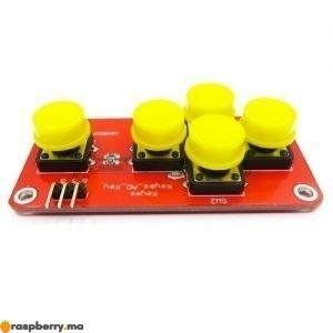 Module clavier analogique 5 boutons 1