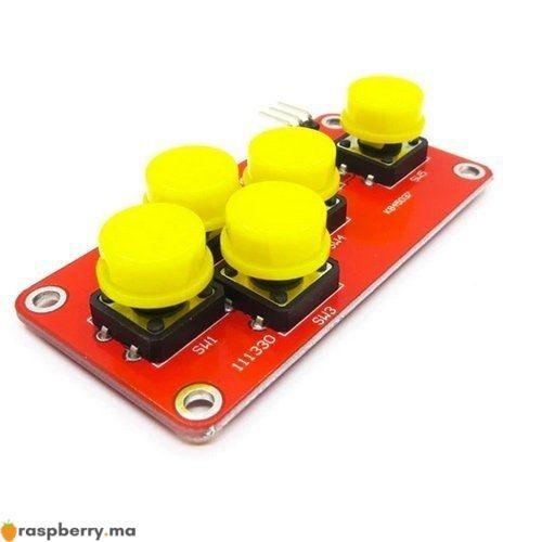 Module clavier analogique 5 boutons 2