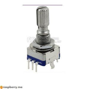 Potentiomètre numérique EC11 15mm