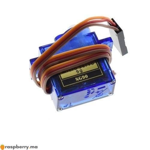 Servomoteur 1.4KG avec plaque de fixation 4