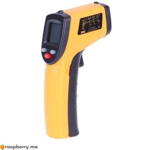 Thermomètre IR Laser numérique 50 380C 2