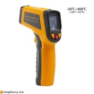 Thermomètre infrarouge IR numérique 50 400C 1