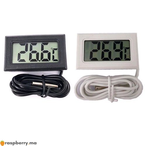 Thermomètre numérique 50 110°c avec sonde 1m 1