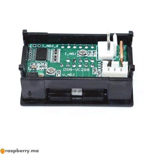 Voltmètre Ampèremètre numérique DC 3