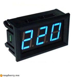 Voltmètre numérique 70 500V AC 1