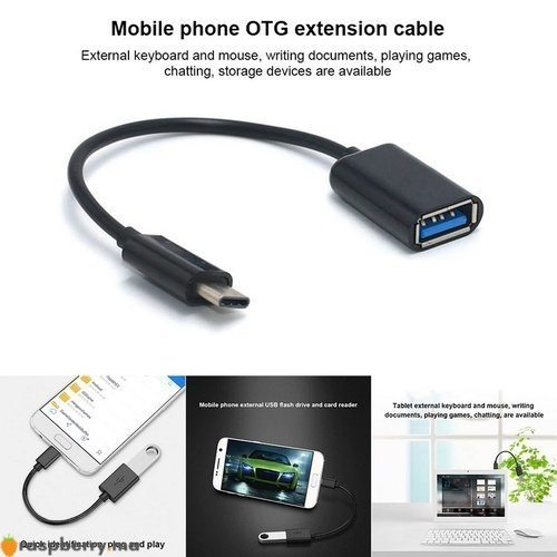 Adaptateur USB 3.1 Type C mâle vers USB 3.0 3