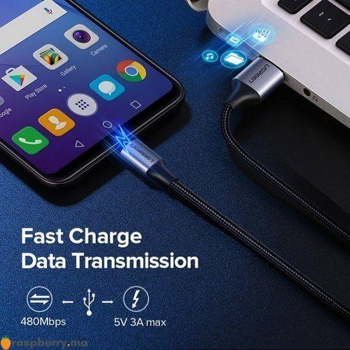 Câble USB MicroUSB 1m 4