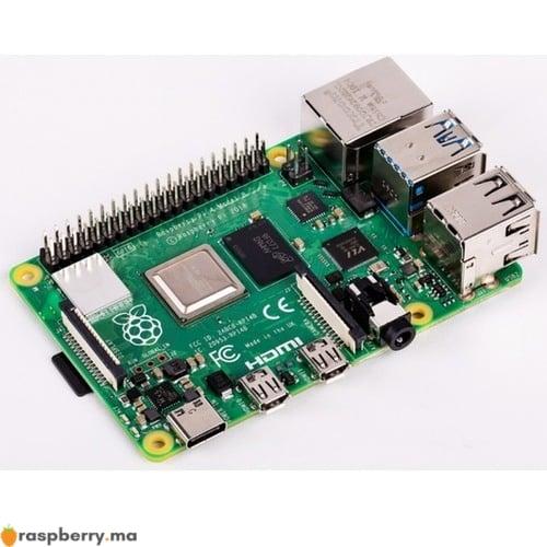 Carte raspberry pi SDRAM et Go raspberry.ma