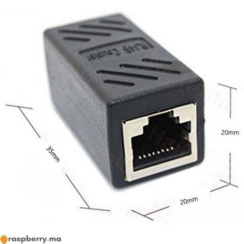 Coupleur de câble Ethernet RJ45 1
