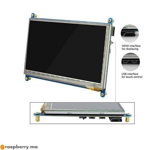 Ecran LCD 7 pouces HDMI tactile 3