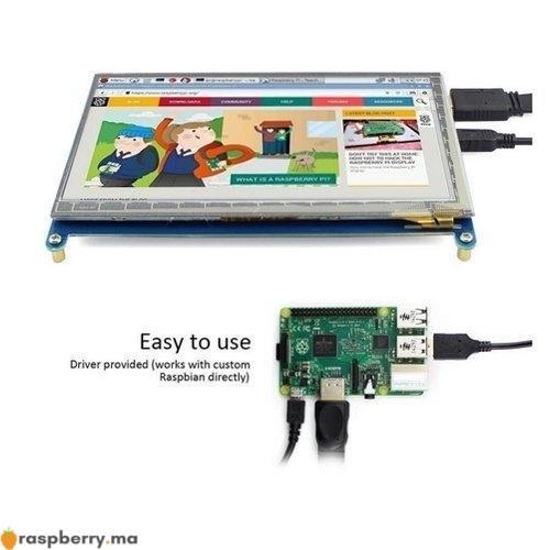 Ecran LCD 7 pouces HDMI tactile 4
