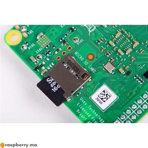 Emplacement micro SD raspberry pi raspberry.ma