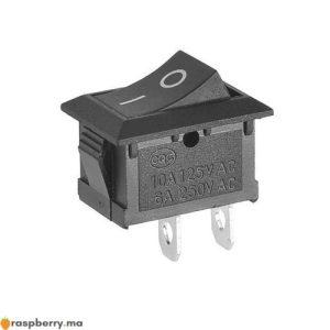 Interrupteur Marche Arret 6A 250 V 1