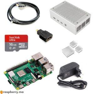 Kit-de-démarrage-Raspberry-Pi-4B-7-éléments