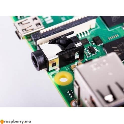 Port Port Jack mm Audio stéréo et Vidéo composite du raspberry pi raspberry.ma