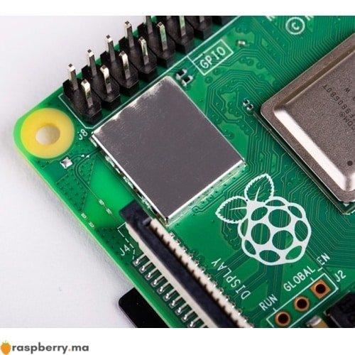 Puce WIFI .GHz .GHz et Bluetooth . du raspberry pi raspberry.ma