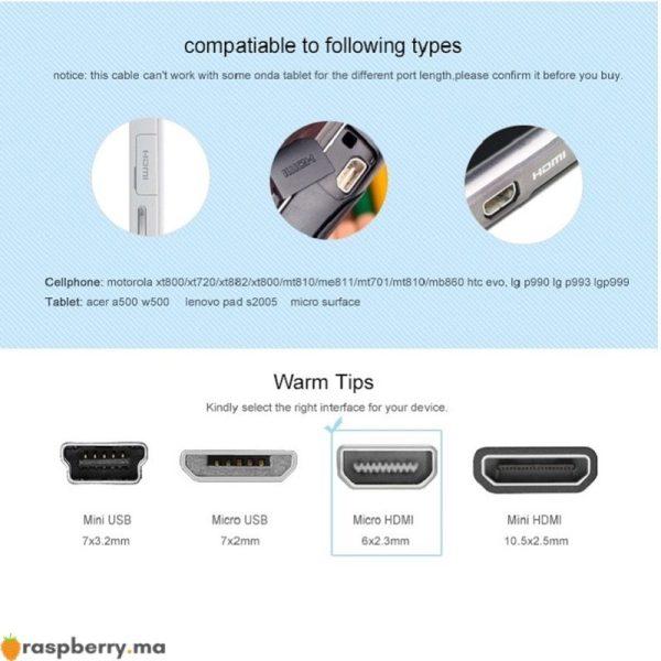 0-25m-1m-2m-1-5m-3m-5m-Micro-HDMI-vers-HDMI-c-ble-avec-Ethernet-2