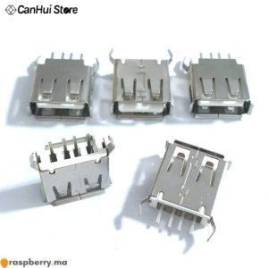 10-20-pi-ces-USB-type-A-femelle-prise-verticale-connecteur-180-degr-s-4-broches