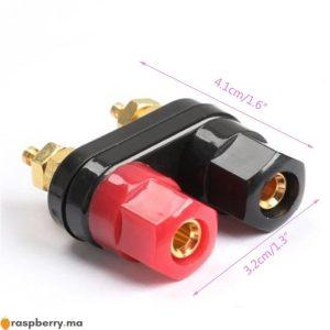 4-pi-ces-lot-4MM-connecteur-de-prise-banane-plaque-d-or-poste-de-liaison-dans