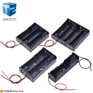 Bo-te-de-rangement-de-batterie-en-plastique-noir-1x2x3x4x18650-1-2-3-4-fente-mani