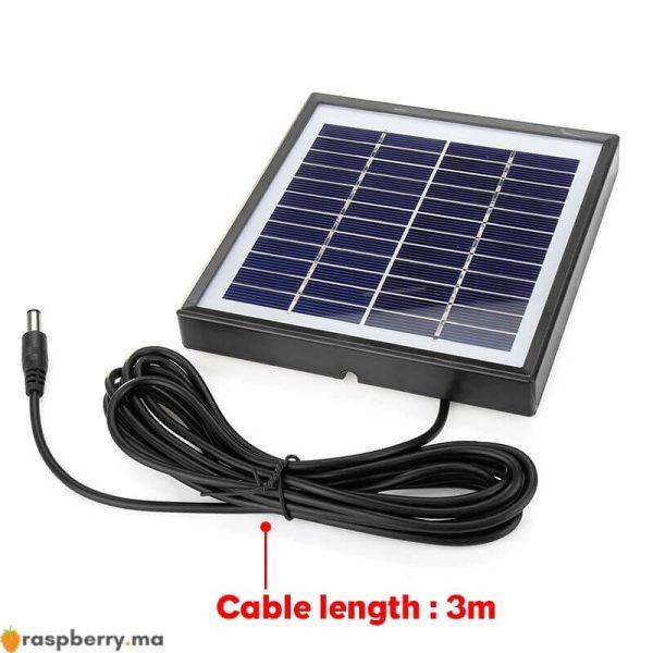 Ext-rieur-3-m-tres-c-ble-panneau-solaire-5W-12V-chargeur-solaire-Portable-chargeur-rapide-2