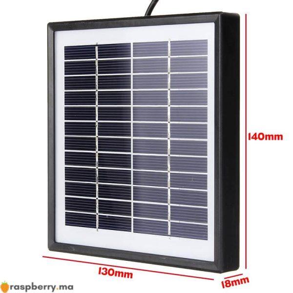 Ext-rieur-3-m-tres-c-ble-panneau-solaire-5W-12V-chargeur-solaire-Portable-chargeur-rapide-4